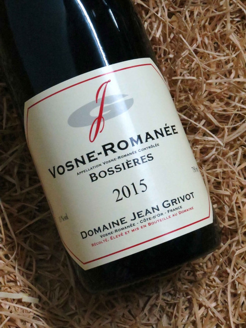 Dom Jean Grivot Vosne-Romanee Bossieres 2015