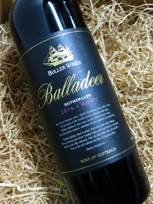 [SOLD-OUT] Buller Balladeer Durif 2016