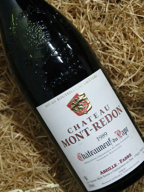 [SOLD-OUT] Chateau Mont-Redon Chateauneuf-du-Pape 1989