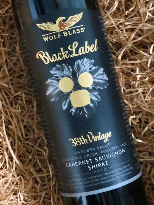 [SOLD-OUT] Wolf Blass Black Label 2010