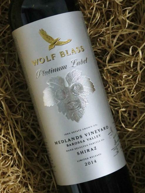 Wolf Blass Platinum Label Shiraz 2014