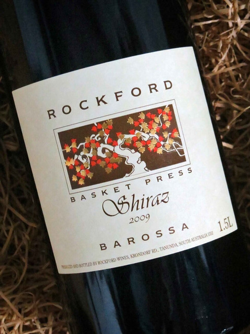 [SOLD-OUT] Rockford Basket Press Shiraz 2009 1500mL-Magnum