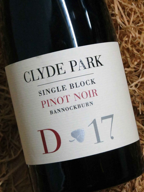 [SOLD-OUT] Clyde Park Estate D Block Pinot Noir 2017