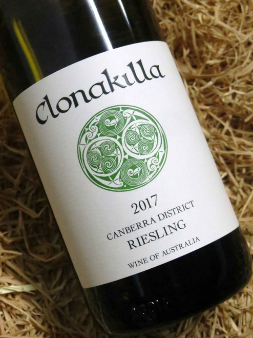 [SOLD-OUT] Clonakilla Riesling 2017