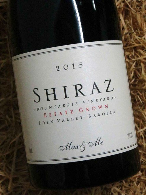 [SOLD-OUT] Max & Me Boongarrie Estate Shiraz 2015