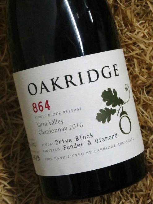 [SOLD-OUT] Oakridge 864 Chardonnay 2016