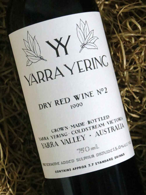 [SOLD-OUT] Yarra Yering Dry Red No 2 1999