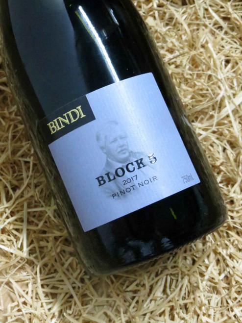 [SOLD-OUT] Bindi Block 5 Pinot Noir 2017