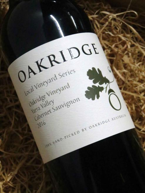 [SOLD-OUT] Oakridge Local Vineyard Series Oakridge Cabernet Sauvignon 2016