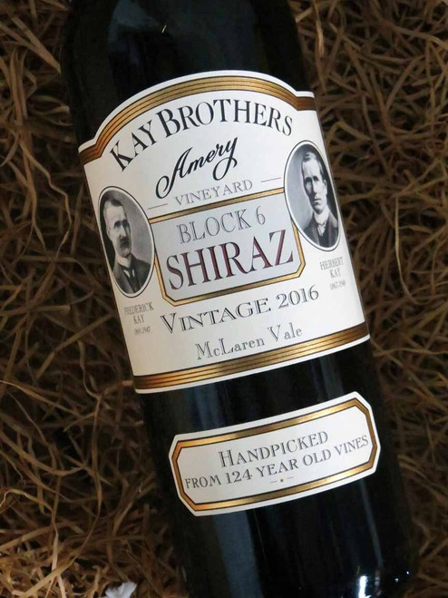 [SOLD-OUT] Kay Brothers Block 6 Shiraz 2016