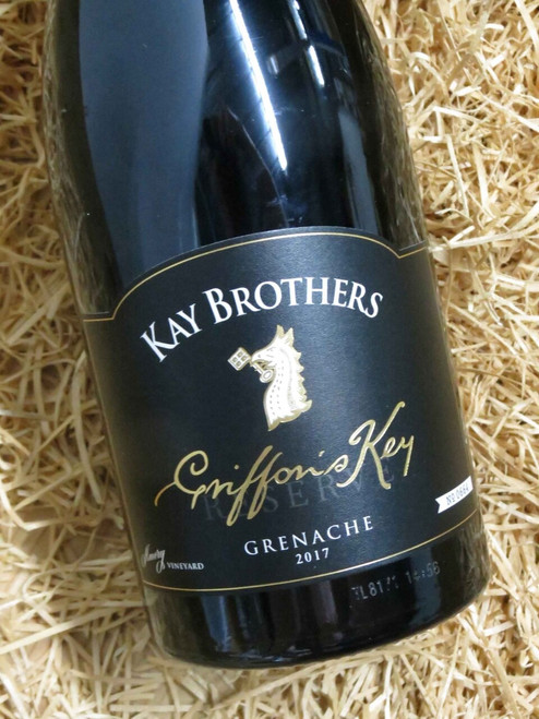 [SOLD-OUT] Kay Brothers Griffon's Key Grenache 2017