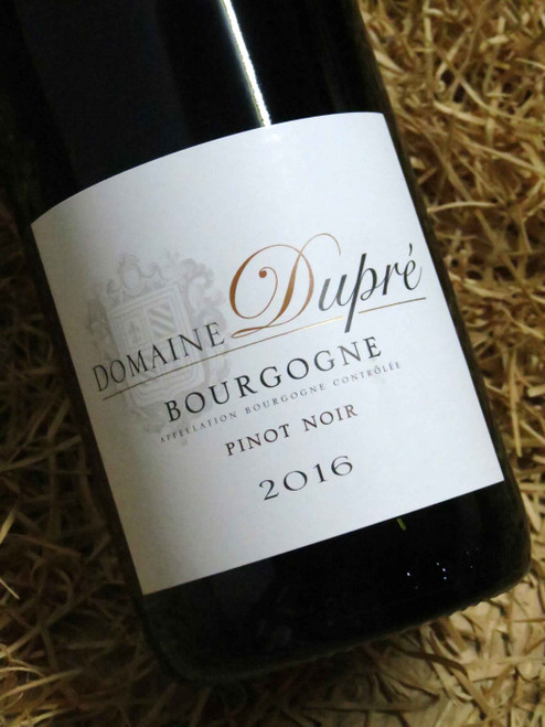 [SOLD-OUT] Dom Dupre Bourgogne Rouge 2016