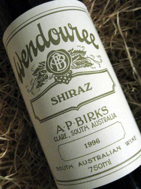 [SOLD-OUT] Wendouree Shiraz 1996