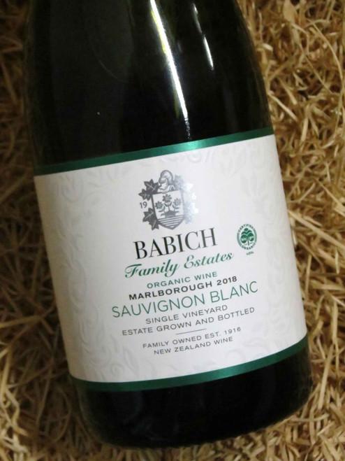 [SOLD-OUT] Babich Organic Single Vineyard Sauvignon Blanc 2018