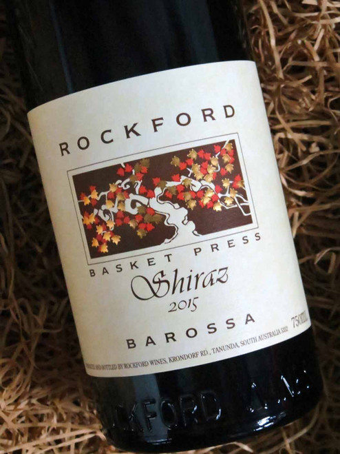 [SOLD-OUT] Rockford Basket Press Shiraz 2015