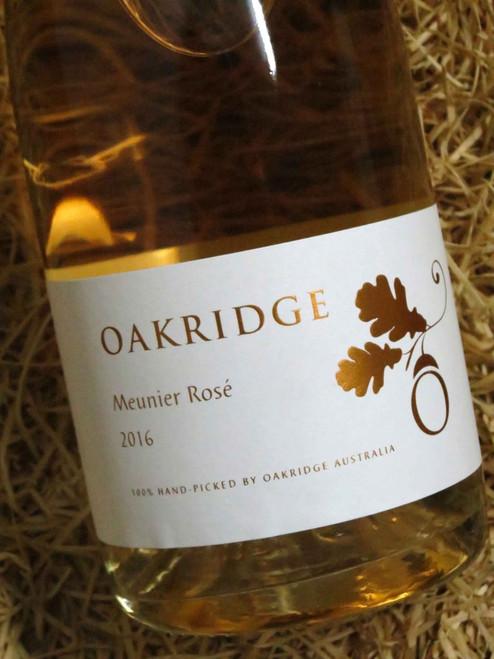 Oakridge Local Vineyard Series Sparkling Meunier Rose 2016