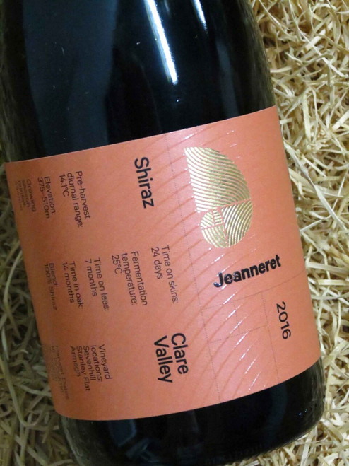[SOLD-OUT] Jeanneret Rank & File Shiraz 2016