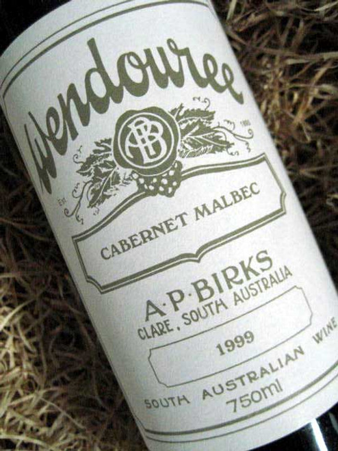 [SOLD-OUT] Wendouree Cabernet Malbec 1999