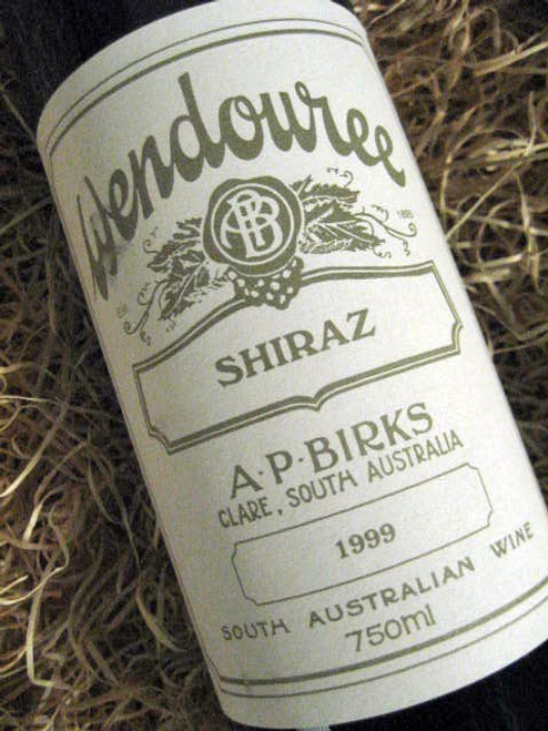 [SOLD-OUT] Wendouree Shiraz 1999