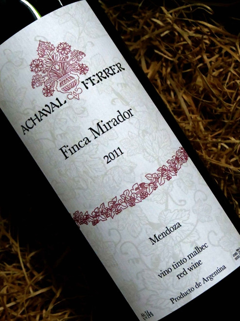 [SOLD-OUT] Achaval Ferrer Finca Mirador Malbec 2011