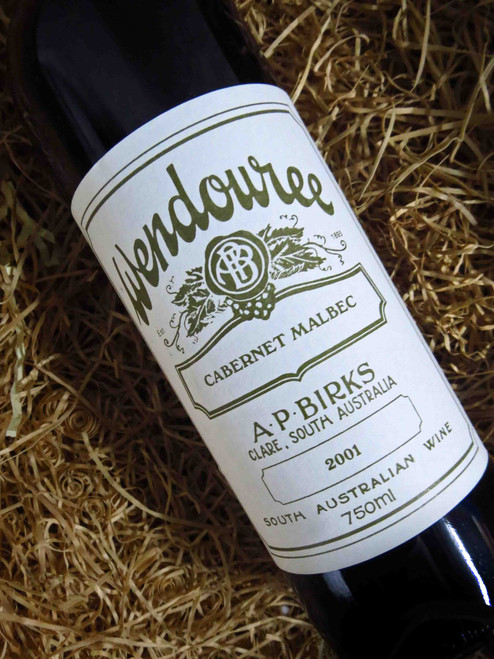 [SOLD-OUT] Wendouree Cabernet Malbec 2001