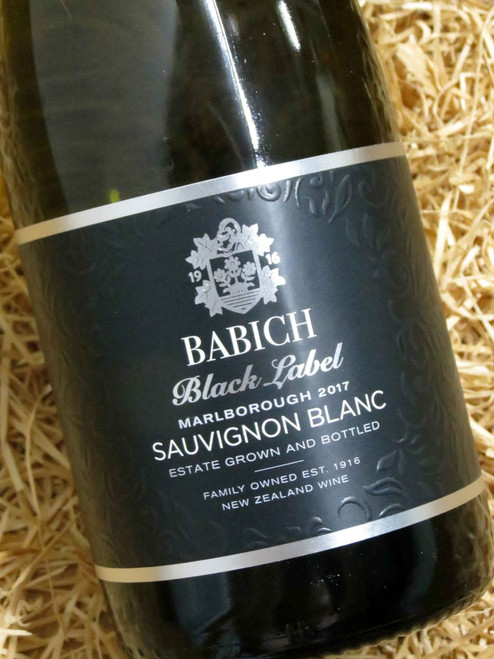 [SOLD-OUT] Babich Black Label Sauvignon Blanc 2017