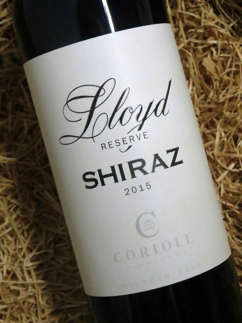 Coriole Lloyd Reserve Shiraz 2015