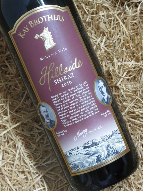 [SOLD-OUT] Kay Brothers Hillside Shiraz 2016