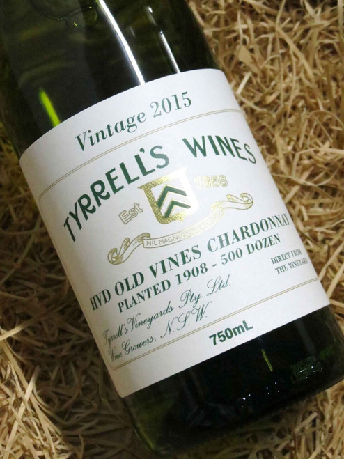 [SOLD-OUT] Tyrrell's HVD Old Vines Chardonnay 2015