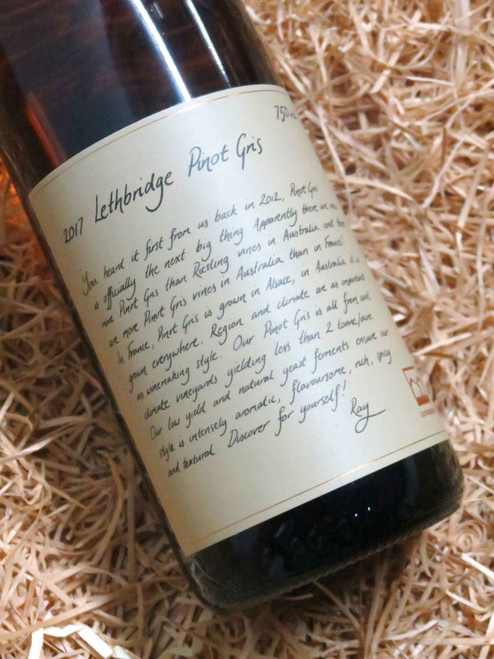 [SOLD-OUT] Lethbridge Pinot Gris 2017