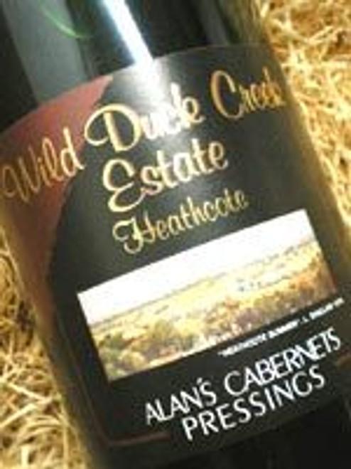 Wild Duck Creek Alan's Cabernet Sauvignon 1999