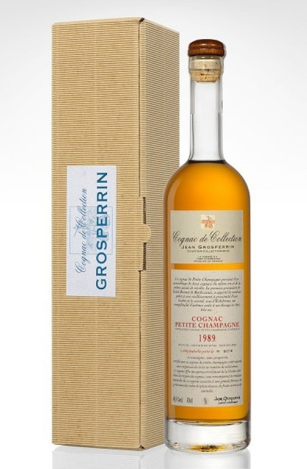 [SOLD-OUT] Jean Grosperrin Petite Champagne Cognac 1989 47.1%