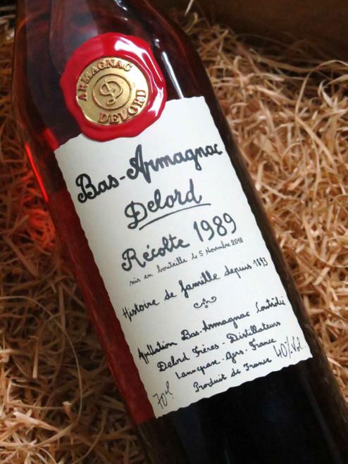 Delord Bas Armagnac 1989