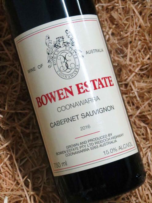 [SOLD-OUT] Bowen Estate Cabernet Sauvignon 2016