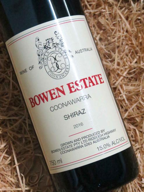 [SOLD-OUT] Bowen Estate Shiraz 2016