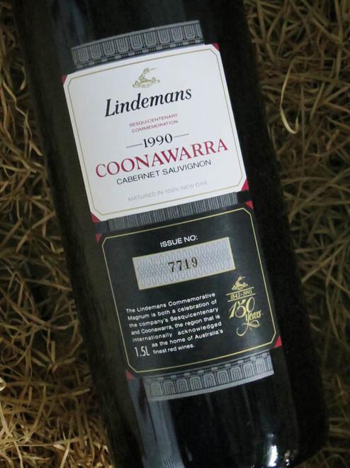 [SOLD-OUT] Lindemans Sesquicentenary Cabernet Sauvignon 1990 1500mL-Magnum