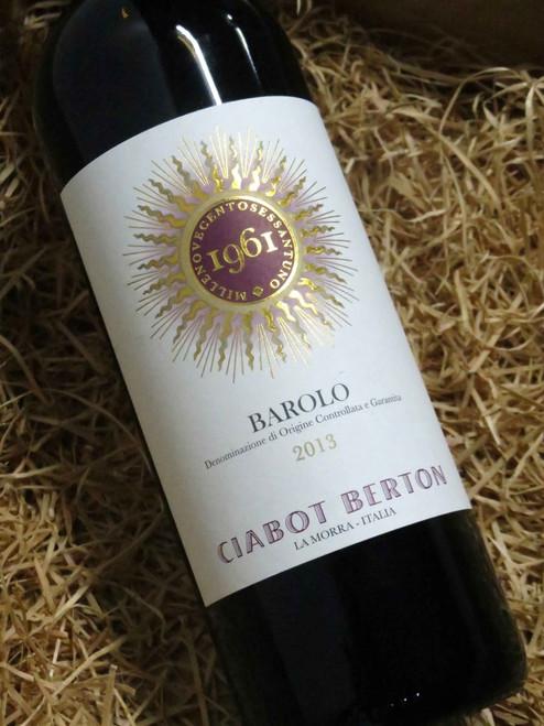 [SOLD-OUT] Ciabot Berton Barolo 2013