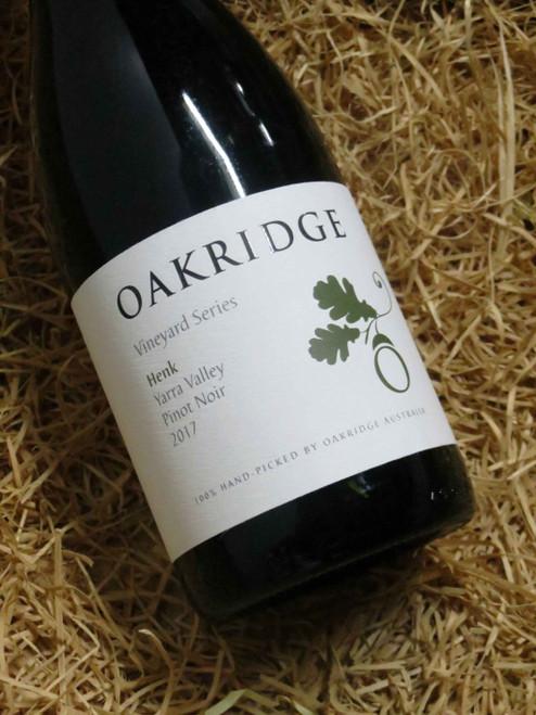 [SOLD-OUT] Oakridge Local Vineyard Series Henk Pinot Noir 2017