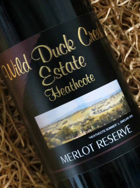 [SOLD-OUT] Wild Duck Creek Reserve Merlot 2001