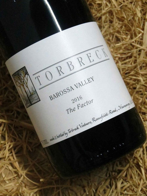 [SOLD-OUT] Torbreck The Factor Shiraz 2016