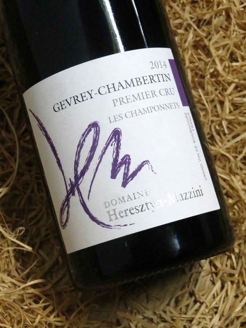 Heresztyn-Mazzini Gevrey-Chambertin Premier Cru Les Champonnets 2014