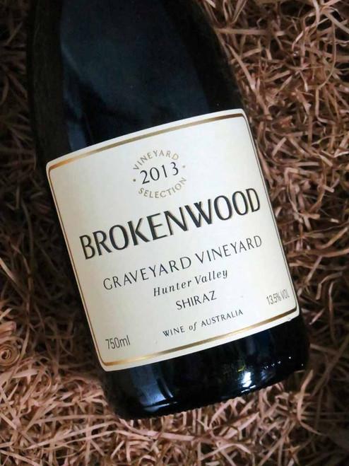 [SOLD-OUT] Brokenwood Graveyard Shiraz 2013