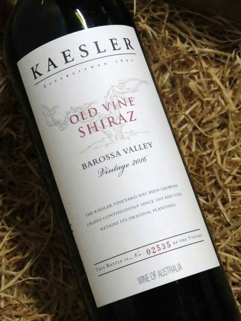 [SOLD-OUT] Kaesler Old Vine Shiraz 2016