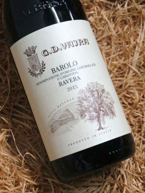 [SOLD-OUT] G.D. Vajra Barolo Ravera 2015 DOCG