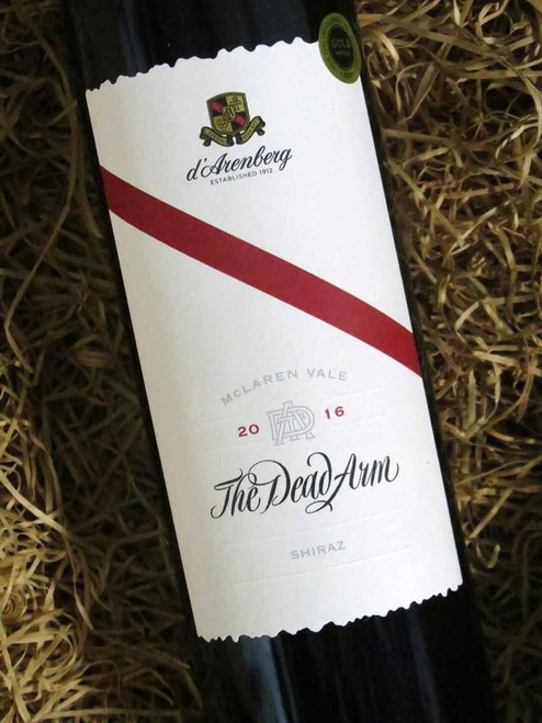 [SOLD-OUT] d'Arenberg Dead Arm Shiraz 2016