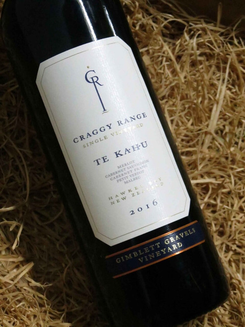 [SOLD-OUT] Craggy Range Gimblett Gravels Te Kahu Merlot Blend 2016