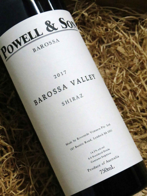 [SOLD-OUT] Powell & Son Shiraz 2017