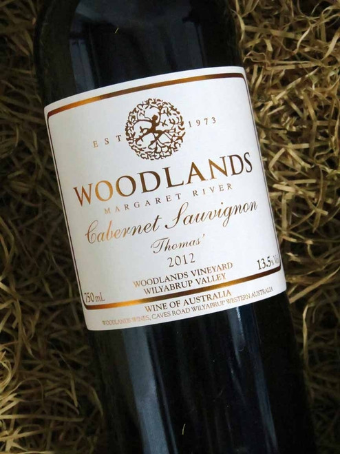 [SOLD-OUT] Woodlands Thomas Cabernet Sauvignon 2012