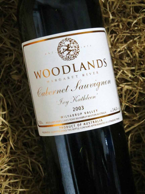 [SOLD-OUT] Woodlands Ivy Kathleen Cabernet Sauvignon 2003 (Damaged Label)