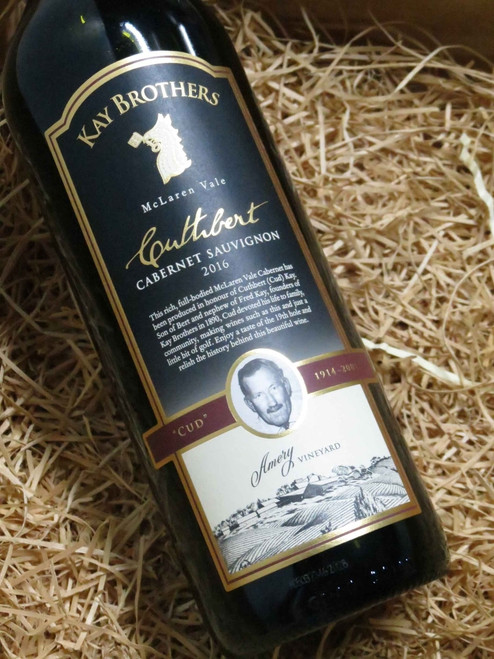 [SOLD-OUT] Kay Brothers Cuthbert Cabernet Sauvignon 2016